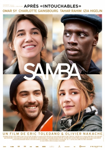 плакат фильма постер Самба