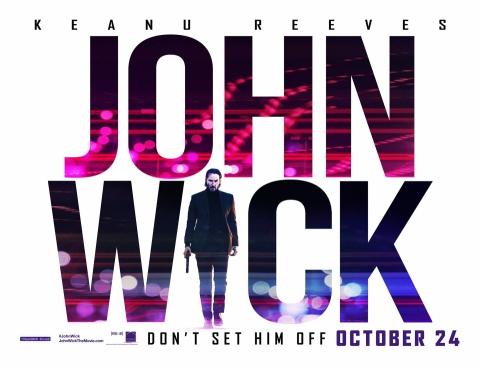 плакат фильма биллборды Джон Уик