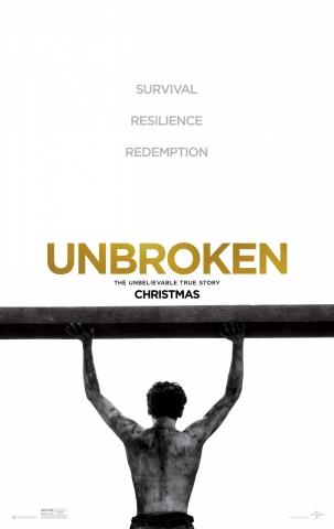 плакат фильма постер Несломленный