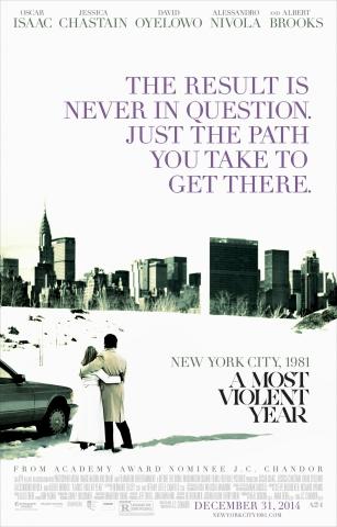 плакат фильма постер Самый жестокий год*
