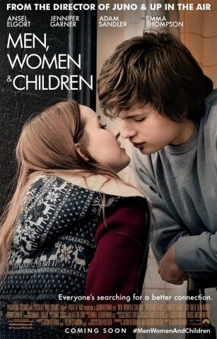 плакат фильма постер Мужчины, женщины и дети