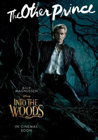 плакат фильма характер-постер Чем дальше в лес…