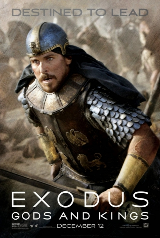 плакат фильма характер-постер Исход: Цари и боги
