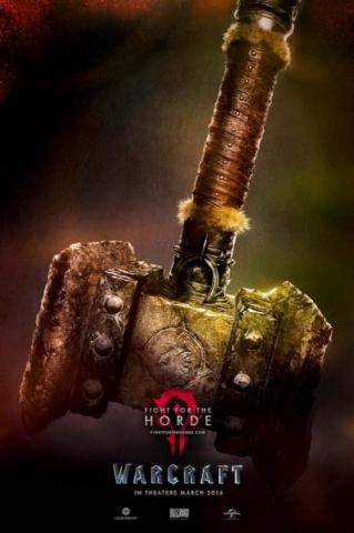 плакат фильма постер Варкрафт