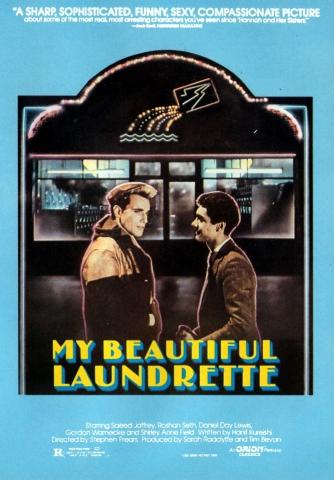 плакат фильма постер Моя прекрасная прачечная