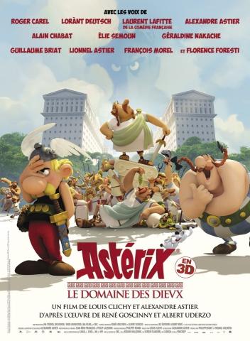 плакат фильма постер Астерикс: Земля Богов