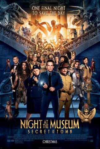 плакат фильма постер Ночь в музее: Секрет гробницы