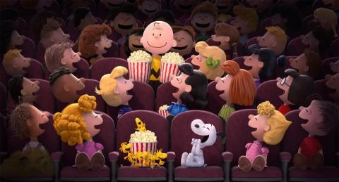 кадры из фильма Снупи и мелочь пузатая в кино