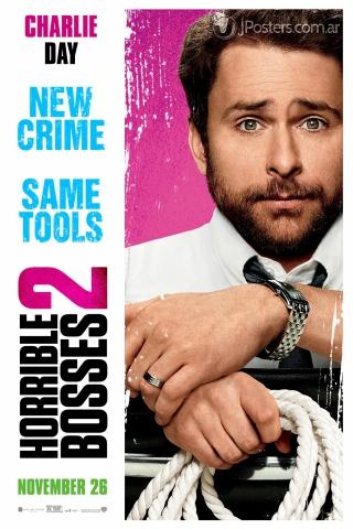 плакат фильма характер-постер Несносные боссы 2