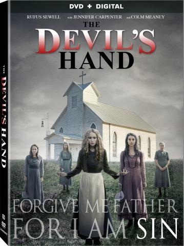 плакат фильма DVD Рука Дьявола