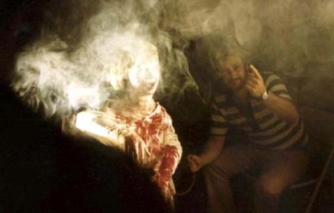 со съемок Зловещие мертвецы
