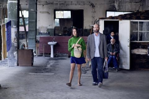кадры из фильма Слепые свидания Иа Сухиташвили, Андро Сахварелидзе,