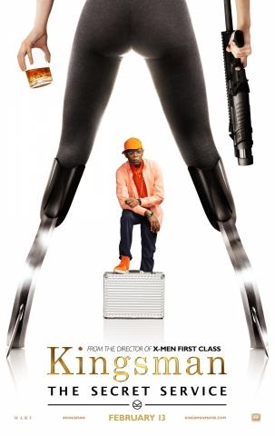 плакат фильма характер-постер Kingsman: Секретная служба