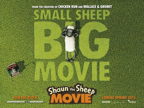 плакат фильма биллборды Барашек Шон