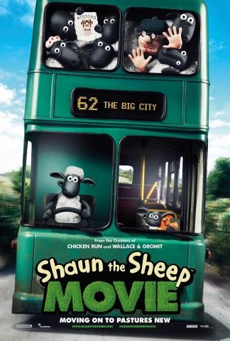 плакат фильма постер Барашек Шон