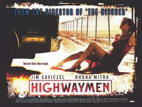 плакат фильма биллборды Шоссе смерти