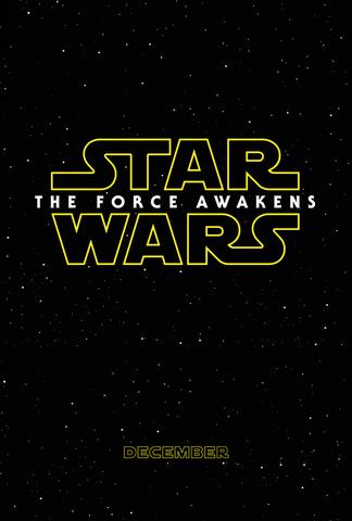 плакат фильма тизер Звездные Войны: Пробуждение Силы