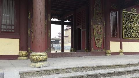 со съемок Тайна печати дракона. Путешествие в Китай
