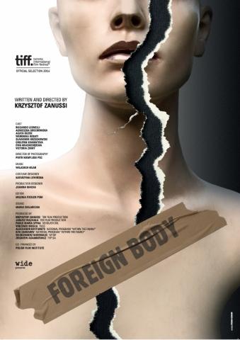 плакат фильма постер Инородное тело