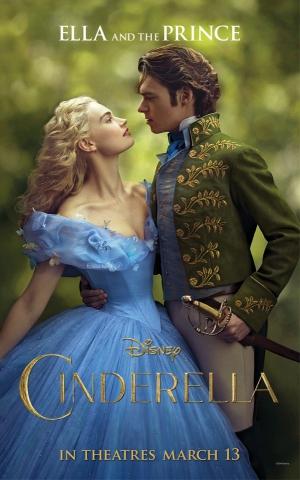 плакат фильма характер-постер Золушка