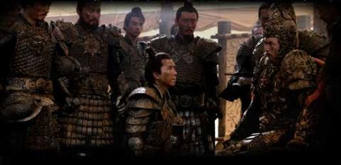 кадры из фильма Императрица и воины