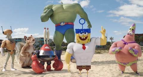 кадр №205298 из фильма Губка Боб в 3D