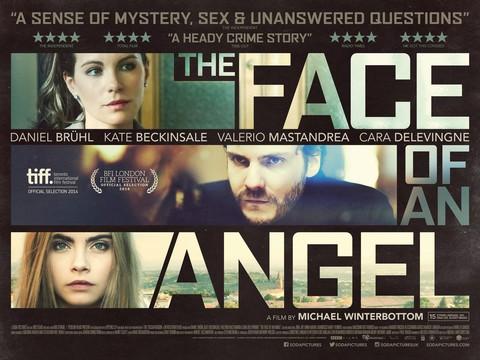 плакат фильма биллборды Лицо ангела