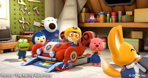 кадр №209552 из фильма Пингвиненок Пороро: Большие гонки
