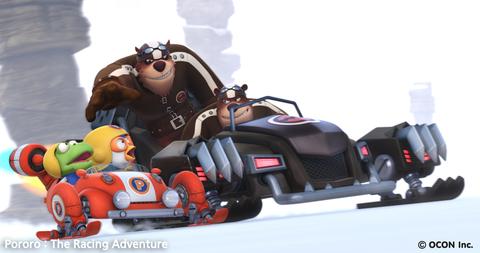 кадр №209556 из фильма Пингвиненок Пороро: Большие гонки