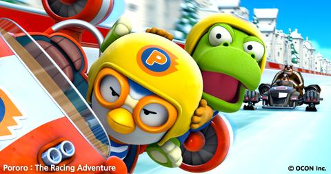 кадр №209558 из фильма Пингвиненок Пороро: Большие гонки