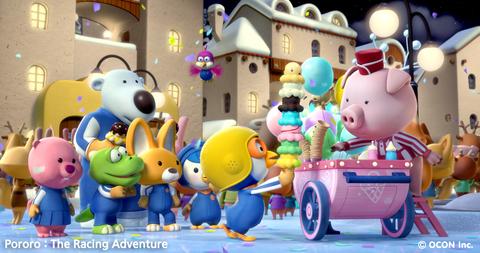 кадр №209559 из фильма Пингвиненок Пороро: Большие гонки