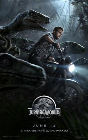 плакат фильма постер Мир Юрского периода