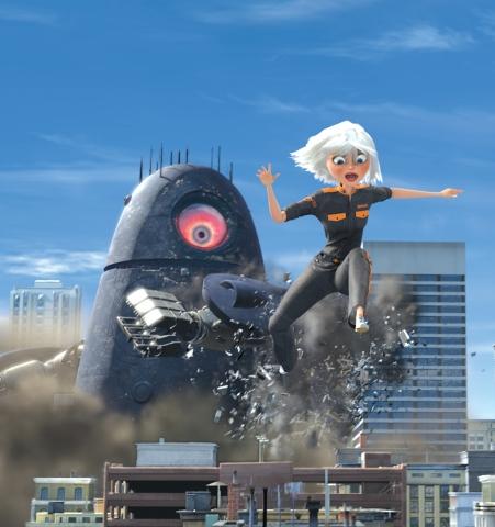 кадр №21071 из фильма Монстры против пришельцев