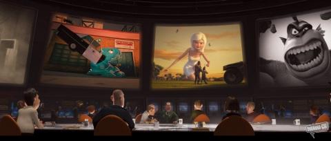 кадры из фильма Монстры против пришельцев