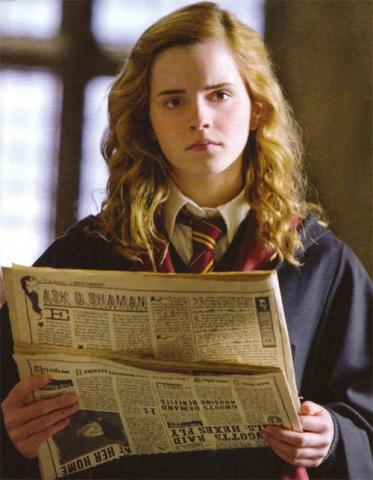 кадры из фильма Гарри Поттер и Принц-полукровка Эмма Уотсон,