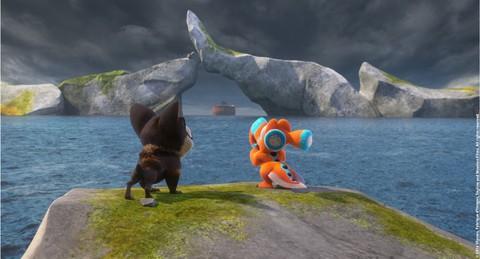 кадр №211607 из фильма Упс… Ной уплыл!