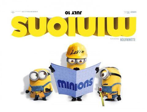 плакат фильма биллборды Миньоны