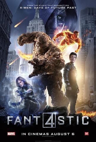 плакат фильма постер Фантастическая четверка