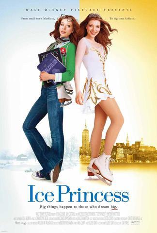 плакат фильма постер Принцесса льда