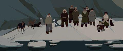 кадр №217280 из фильма Долгий путь на север*
