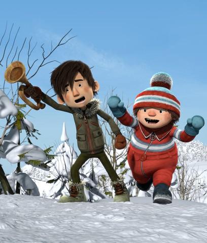 кадр №218703 из фильма Снежная битва 3D