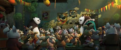кадр №221039 из фильма Кунг-фу панда 3