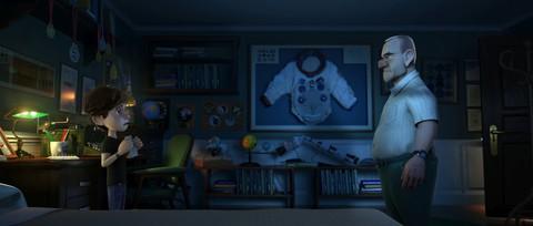 кадр №223835 из фильма Лунный флаг