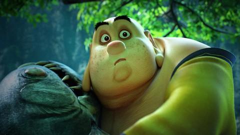 кадр №223925 из фильма Король обезьян 3D