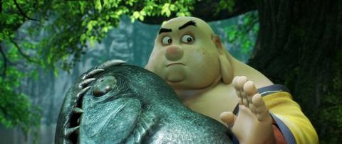 кадр №223930 из фильма Король обезьян 3D
