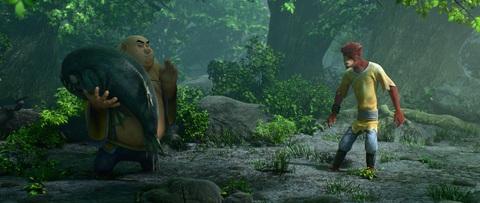 кадр №223931 из фильма Король обезьян 3D