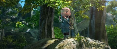 кадр №223933 из фильма Король обезьян 3D