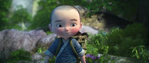 кадр №223936 из фильма Король обезьян 3D