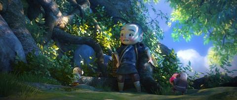 кадр №223937 из фильма Король обезьян 3D