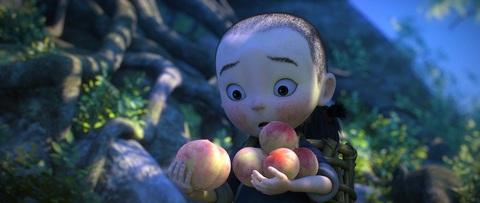 кадр №223938 из фильма Король обезьян 3D